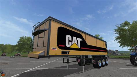 cat trailer cat truck trailer pack v1 0 mod farming simulator 17