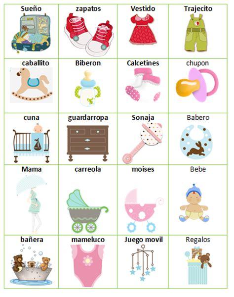 loteria baby shower para imprimir gratis loteria completa para baby showers imagui