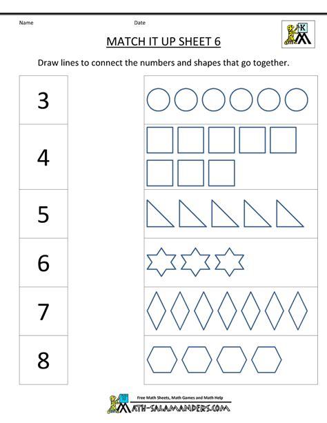 Math Worksheets Kindergarten Kelpies