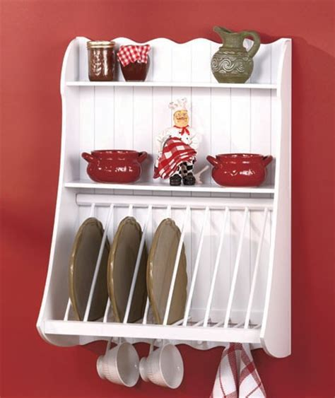 country kitchen plate rack country kitchen wood wall shelf plate storage organizer