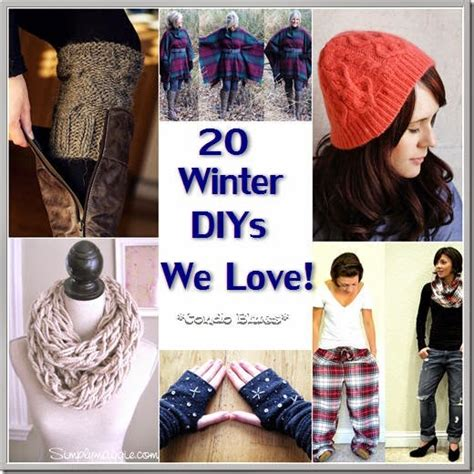 diy projects clothes condo blues 20 warm winter diy clothes we