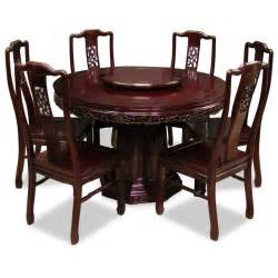 Rosewood Dining Room Set Round Dining Table For 6 Round Dining Table For 6