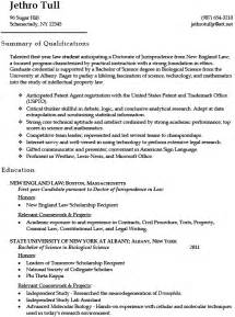 Patent Attorney Trainee Sle Resume by Patent Resume Resume Cv Cover Letter