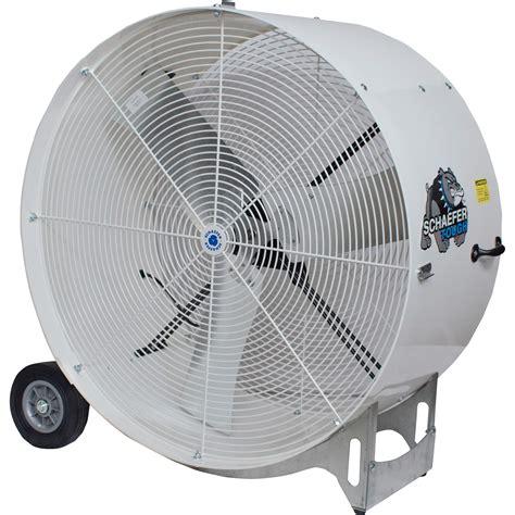 Schaefer Versa Kool Mobile Drum Fan 36in 11 000 Cfm 1