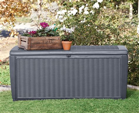 l in a box keter sumatra 511l storage box anthracite grey great