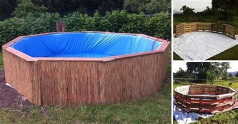 How To Make A Swimming Pool In Your Backyard by Make Your Own Diy Swimming Pool With 9 Wooden