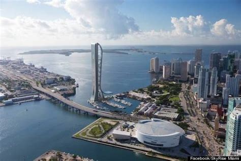 imagenes de bayside miami skyrise miami observation tower may be the craziest