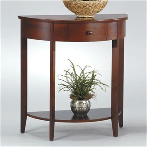 half moon accent tables madison half moon console table modern side tables and
