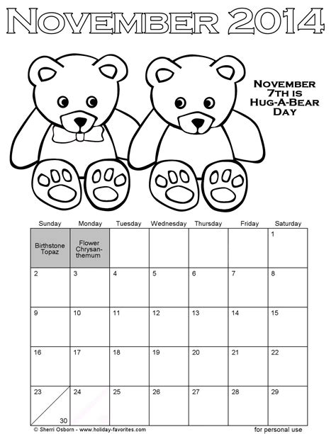 Calendar For November 2014 Search Results For Calendar Page For November 2014