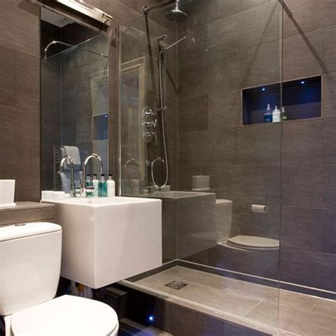 Grey Bathroom Designs Modern Grey Bathroom Hotel Style Bathrooms Ideas Housetohome Co Uk