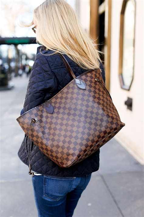 Burberry Quilted Denim Tote by On Investment Pieces In The City