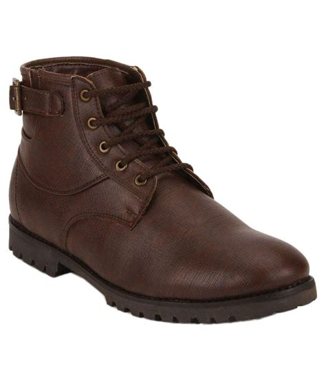 snapdeal boots ziera brown boots buy ziera brown boots at best