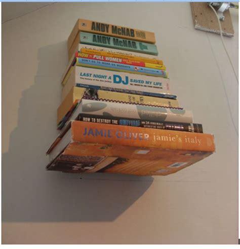 cara membuat rak buku gantung cara mudah membuat rak buku melayang bisnis online ala