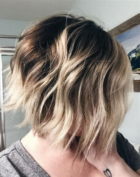 messy bob haircuts with ombre 21 cute layered bob hairstyles popular haircuts