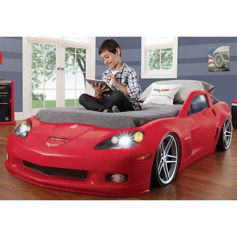 step2 corvette toddler to bed with lights step2 corvette toddler to bed with lights bj s