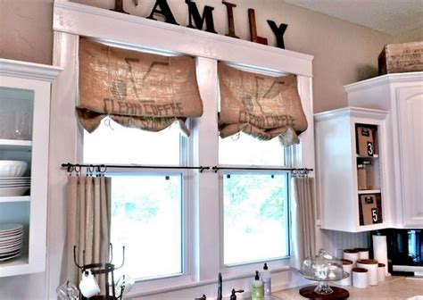 window treatment ideas for kitchens what a difference kitchen curtains make modernize
