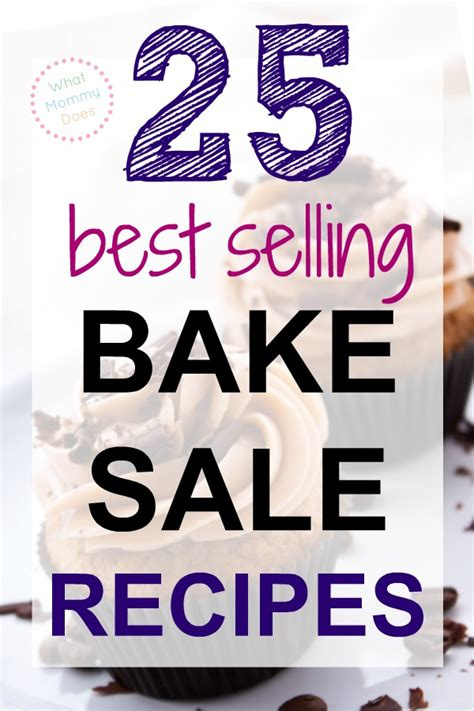 super simple last minute bake sale recipes