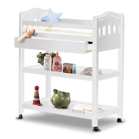 Sorelle Changing Table Nicki Solid Pine Changing Table In White 67 Fw