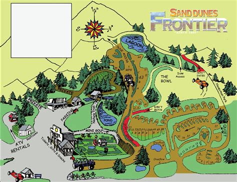 map of oregon cgrounds florence oregon rv and atv cing at sand dunes frontier