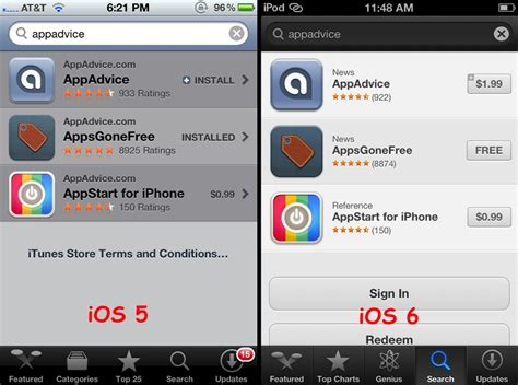iphone browser layout does new app store layout hint at big change for iphone
