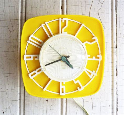 yellow kitchen clock 17 best images about yellow on dinette sets