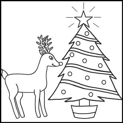 arboles de navidad para colorear e imprimir imagenes de