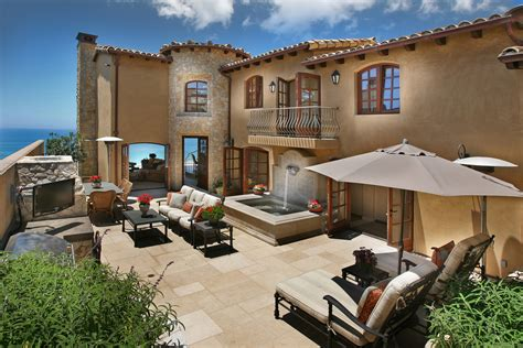 mediterranean house plan for beach living ideas for the mediterranean style ocean front home in laguna beach