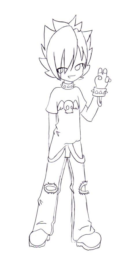 chibi boy coloring pages hot chibi boy by 100animegirl100 on deviantart