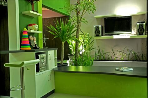 green interior design for your home cawah homes modern green blending homes design by gayuh