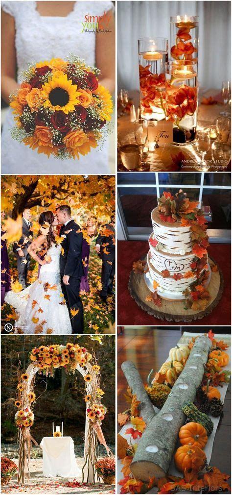 17 best ideas about fall sunflower weddings on pinterest