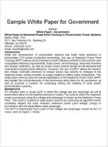 how to write white paper template white paper templates 9 documents pdf word