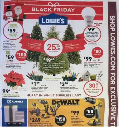lowe s black friday ad black friday ads