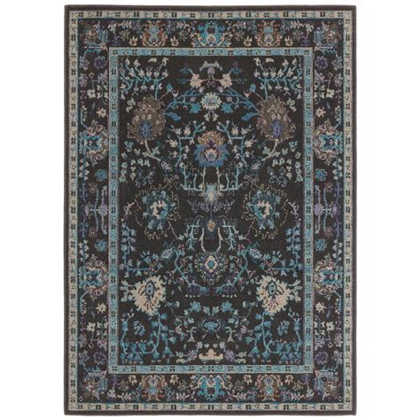 10 X 12 Area Rugs Vintage Washed by Home Decorators Collection Overdye Gray 10 Ft X 12 Ft
