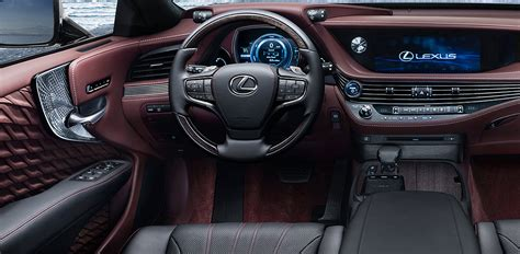 lexus ls interior 2018 lexus ls 500 interior cars report