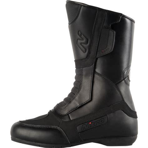 waterproof cruiser motorcycle boots nitro nb 11 cruiser touring leather waterproof motorbike