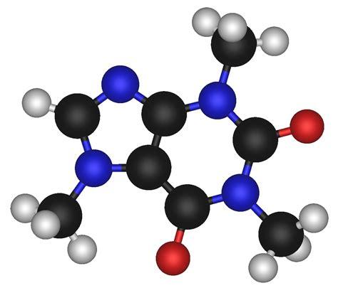 molecule diagram file caffeine molecule png