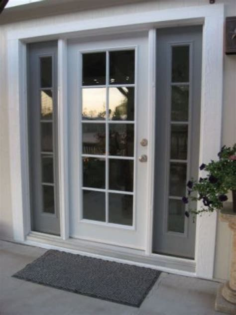 Patio Doors With Side Windows Transcendent Single Doors Patio Doors Windows Doors With On Side Inspiration