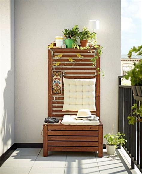 balkon bank ikea ikea tuinmeubelen bank en opbergen voor balkon balkon