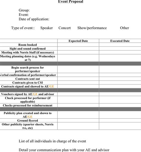 download event proposal for free tidyform