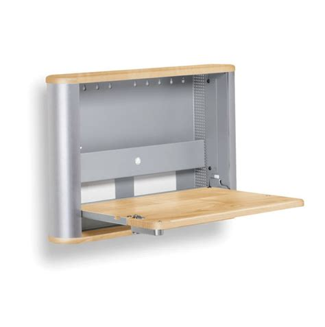 Wall mounted folding desk ideas for small space living homesfeed