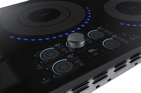 Samsung Cooktop Induction nz36k7880ug samsung 36 quot induction cooktop black