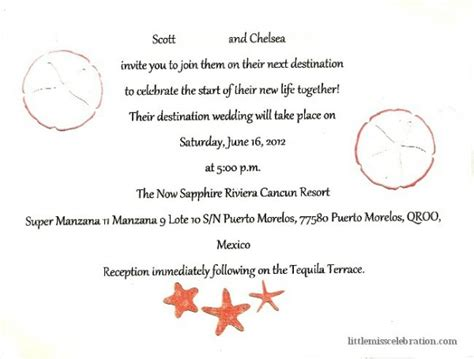 inside of wedding invitation destination wedding week diy invitation inspiration