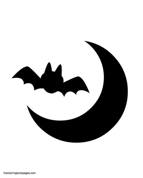 bat stencil cliparts co