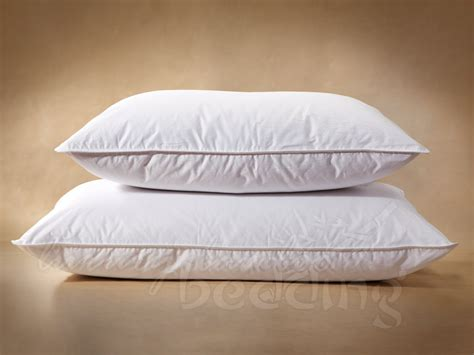 down bed pillows finest hutterite white goose down pillows free shipping