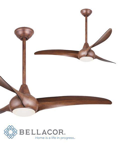 koa wood ceiling fan minka aire light wave 52 inch led ceiling fan in