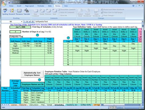Employee Shift Scheduling Spreadsheet by Employee Shift Scheduling Spreadsheet Laobingkaisuo