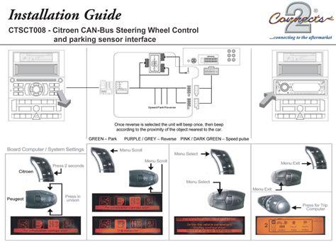 parking sensor wiring diagram cobra parking sensor wiring