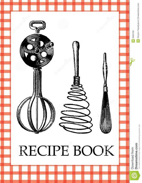 creative recipe book concept idea modern template design vector
