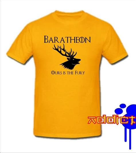 Hoodie Zipper Ours Is The Fury Baratheon 1 of thrones baratheon ours is the fury t shirt blastedrat blasted rat