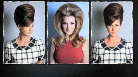 hairstyles of the 60s youtube 60s beehive bouffant hair youtube